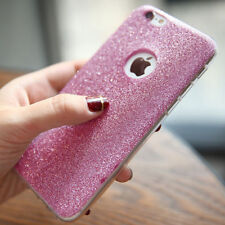 Bling Glitter Sparkle TPU Rubber Soft TPU Case Cover For iPhone 5 6s 7 8 Plus X