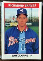 1987 TCMA  (CMC)  RICHMOND BRAVES Minor League Complete Team Set F6020505