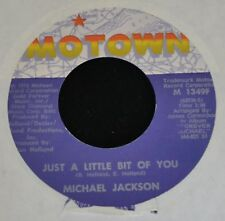 Michael Jackson MOTOWN 1349 Just a Little Bit of You and Dear Michael