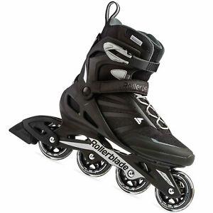 Rollerblade Zetrablade Herren-Inlineskates en Ligne Patins Rollers Noir/Argent