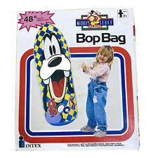 "Disney Goofy Bop Bag Vintage 1993 Mickey's Stuff - 48"" inch Inflatable Toy -"