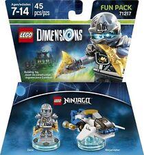LEGO DIMENSIONS The Movie Fun Pack Zane Ninjago NinjaCopter 71217 (45 pcs) NIB
