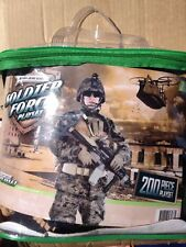 Action Hero Series Soldier Force Play set 200 Pieces BNIB (l)