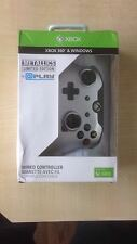 NEW Metallic Silver Wired Controller for Xbox 360 & Windows - 1st Class Delivery