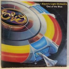 ELO (Electric Light Orchestra-vintage LP-Out Of The Blue-G/fold-Dbl Alb-Poster