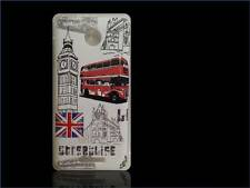custodia cover case rv rigida london inglese bus vintage per HTC Desire 510 A11