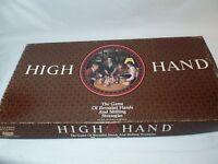 Vintage High Hand Board Game Complete