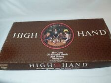 Vintage High Hand Board Game Complete