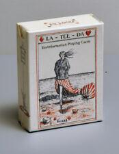 LA-TEE-DA TRANSFORMATION PLAYING CARD DECK - 1865 REPLICA - NIB