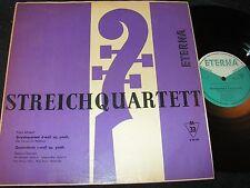 STREICHQUARTETT Schubert Streichquartett d-moll.../ DDR LP 1960 ETERNA 820114