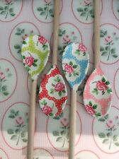 Shabby chic floral Wooden Spoon