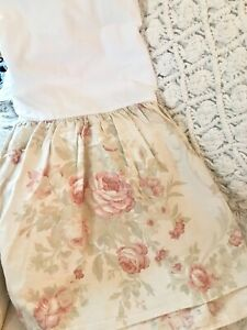 HTF RALPH LAUREN HOME HEARTLAND FLORAL KING BEDSKIRT