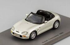 Suzuki Cappuccino Open silver 1992 Spark S0622 resin 1:43