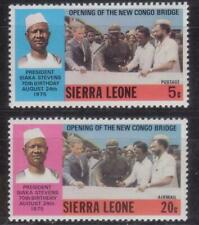 SIERRA LEONE 1975 70TH BIRTH ANNIV. OF PRESIDENT STEVENS  MNH C7994