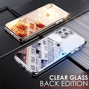 Luxury Tempered GLASS BACK Case Cover For Apple iPhone 11 PRO MAX X XS XR 8 7