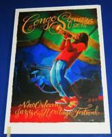 """FRANK ZAPPA 2006 Congo Stamp Sheet; 4/"""" x 7/"""" Souvenir Sheet w//Single perf Stamp"""