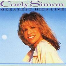 Carly Simon : Greatest Hits Live CD (1995)