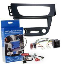 Renault Megane 3 ISO 08-13 1-Din Car Radio Installation Set Steering Wheel