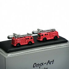 Fire Engine Truck Novelty Cufflinks New Boxed