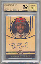 2012-13 Panini Threads #203 BRADLEY BEAL Rookie RC On Card Auto BGS 9.5/10 SP!