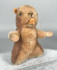 "Vintage Steiff Piff Marmot - 10cm 4"" Tall 1961-1967 4310.00 - no Tags"