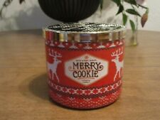 BATH & BODY WORKS MERRY COOKIE 3 WICK 14.5 OZ CANDLE