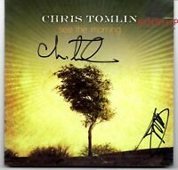 Chris Tomlin signed CD Cover JSA COA See The Morning Z474