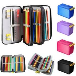 4 Fach Federmäppchen 72 teilig Federmappe Federtasche Bleistift Tasche Bag