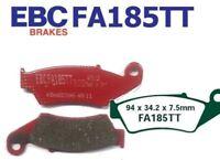 EBC Pastillas Freno Fa185tt Eje delant. YAMAHA WR 450 FR/FS/FT/FV (4t) 03-06