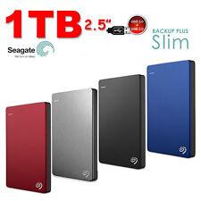 "1To 2.5"" Disque dur Externe Portable SEAGATE Backup Plus SLIM USB3.0"