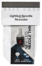 Iluminados LED Enhebrador de Agujas