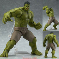Avengers Figma 271 Hulk Anime Movable Action Hero Figure Toy Doll Model gift