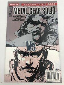 Metal Gear Solid 2005 Issue #12 IDW Comic Book Movie Video Game