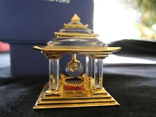 """Swarovski Japanese """"Temple"""" Figurine, 2""""H, 1.75""""W, With Box, Excellent Condition"""