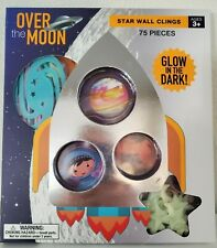Over The Moon Star Wall Clings *Brand New*