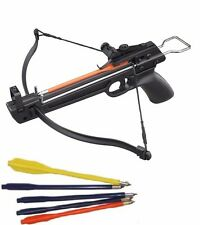 Crossbow Pistol - 50-lb Draw - 150-fps! - Includes 5 Bolts Fast Shipping -FUN -W