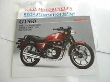 Kawasaki Motorcycle Brochures GT