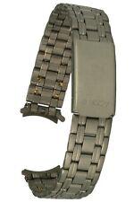 Titan Uhrenarmband mit Rundanschluss Faltschliesse 13 mm Uhrband Damenuhr