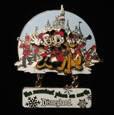 DISNEY PIN - FAB 5 with Castle Snow and Toy Soldiers Merriest Place on Earth DLR