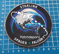 NASA SpaceX DM-2 F9 Falcon 9 Starlink Satelite Elon Musk Hurley Behken  Patch