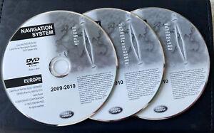 LAND ROVER FREELANDER 2 SAT NAV NAVIGATION DVD SET EUROPE UK L359 MK2 2006-2014