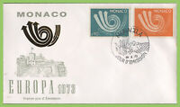 Monaco 1973 Europa set First Day Cover