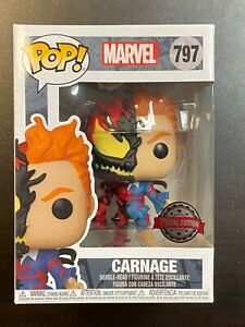 Funko POP Marvel Carnage #797 Hot Topic / Special Edition Exclusive IN HAND