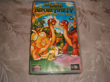 VHS VIDEO TAPE...THE LAND BEFORE TIME 4...... FREE POSTAGE.
