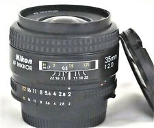Nikon AF Nikkor 35mm f/2 D Lens Excellent++ No. 520584