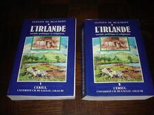 L'IRLANDE SOCIALE, POLITIQUE ET RELIGIEUSE - 2 tomes - Gustave de Beaumont 1990