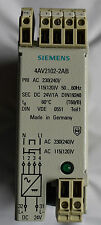 Siemens 4av2102-2ab rectificadores dispositivo Power Supply ac 230 (240) dc 24v