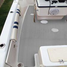 Big 95''x47'' 5mm EVA Gray Boat Yacht Flooring Faux Teak Decking Sheet Pad Cover