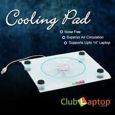 Clublaptop USB Powered Cooling Pad For Laptop Netbook Stand Cooler-Big Fan Blue