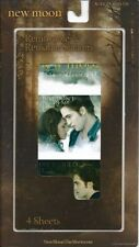Twilight New Moon Sticker Pack Reusable Breaking Dawn Edward Bella RARE